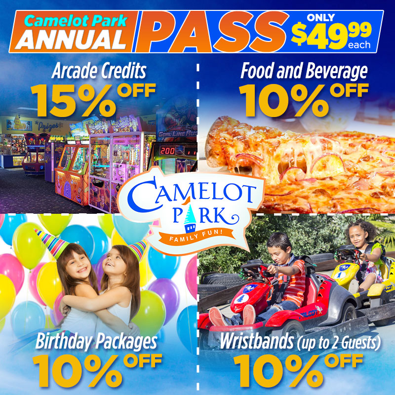 Annual Pass - Only $49.99